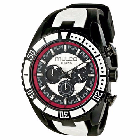 MULCO Titans Wave Chronograph Black and White Dial Unisex Watch MW5-1836-026