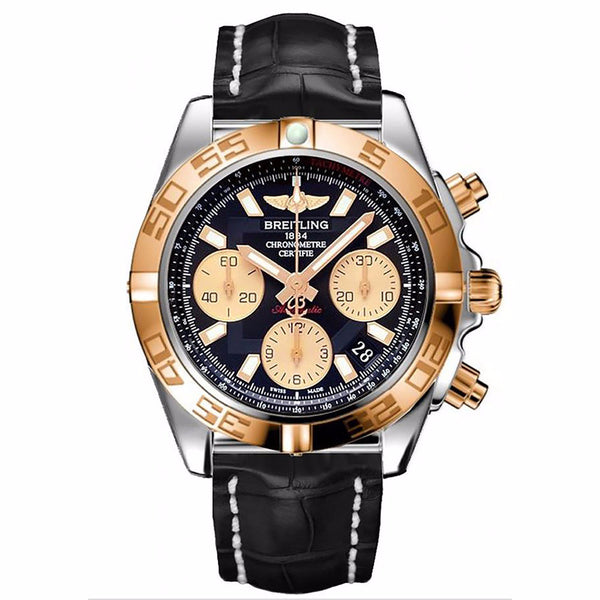 BREITLING CHRONOMAT 41 AUTOMATIC MENS WATCH CB014012-BA53-729P