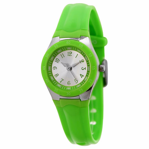 FMD by Fossil Women's Standard 3-Hand Analog Base Metal Silicone Watch FMDX255