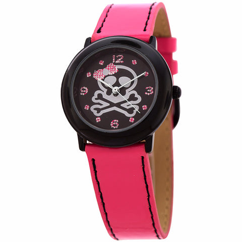 FMD by Fossil Women's Standard 3-Hand Analog Base Metal Watch FMDX265