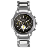 HUSH PUPPIES MEN'S BLACK DIAL STAILESS STEEL CHRONOGRAPH WATCH HP.6039M.1502 - BrandNamesWatch.com