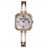 HUSH PUPPIES WOMEN'S GOLD TONE STAILESS STEEL MOTHER OF PEARL DIAL WATCH HP.3516L.1501 - BrandNamesWatch.com