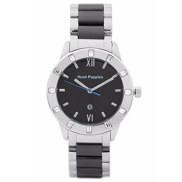 HUSH PUPPIES BLACK DIAL WOMEN'S WATCH HP.3573L.1502