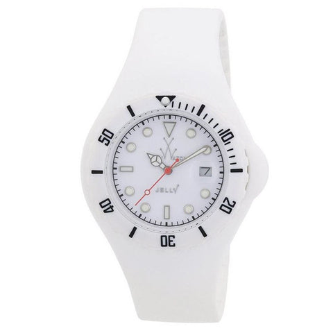 TOYWATCH JELLY WHITE WATCH JY01WH UNISEX WATCH