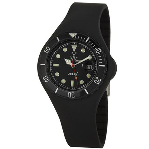 TOYWATCH JELLY BLACK WATCH JY02BK UNISEX WATCH