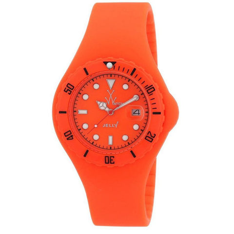 TOYWATCH JELLY ORANGE WATCH JY03OR UNISEX WATCH