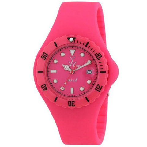 TOYWATCH JELLY PINK WATCH JY04PS UNISEX WATCH