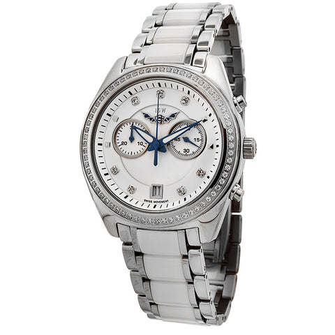 ISW WOMEN'S CHRONOGRAPH STAINLESS STEEL WATCH ISW-1007-01