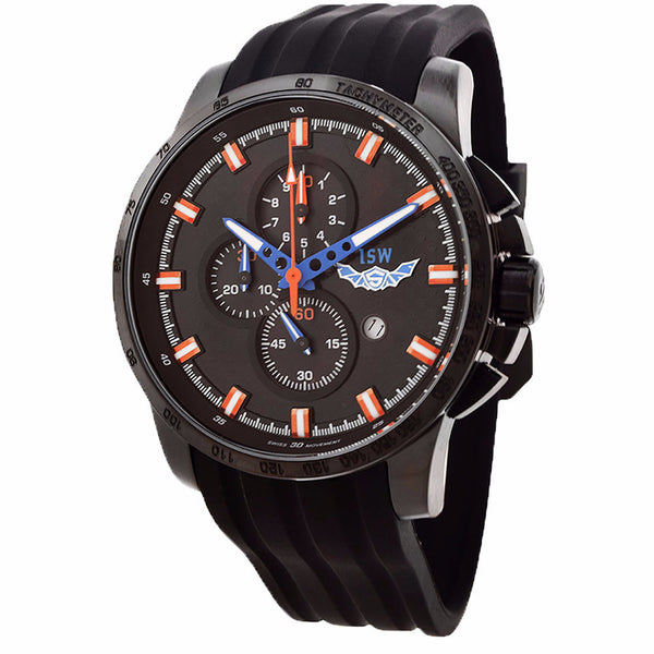 ISW MEN'S CHRONOGRAPH STAINLESS STEEL WATCH ISW-1003-02