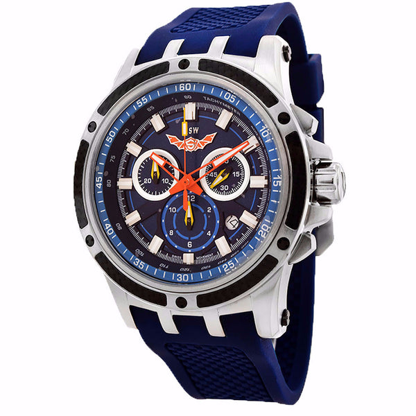 ISW MEN'S CHRONOGRAPH STAINLESS STEEL WATCH ISW-1004-02