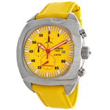 Locman 1970 Men's Yellow Dial Chronograph Watch - BrandNamesWatch.com