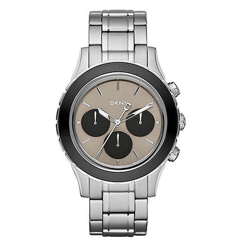 DKNY Chronograph Grey Dial Stainless Steel Men's Watch NY8659