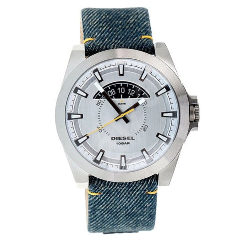 Diesel Arges Denim Silver Quartz Analog Men's Watch DZ-DZ1689