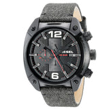 DIESEL Overflow Black Dial Men's Chronograph Watch DZ4373 - BrandNamesWatch.com
