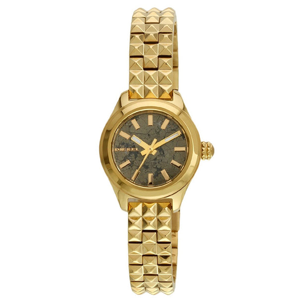 DIESEL Kray Kray Grey Pyrite Dial Ladies Watch DZ5411