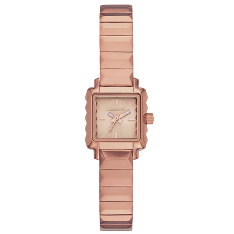 DIESEL Ursula Square Rose Dial Ladies Watch DZ5425