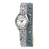 DIESEL Kray Kray Silver Dial Ladies Watch DZ5446 - BrandNamesWatch.com