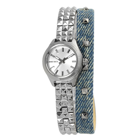 DIESEL Kray Kray Silver Dial Ladies Watch DZ5446