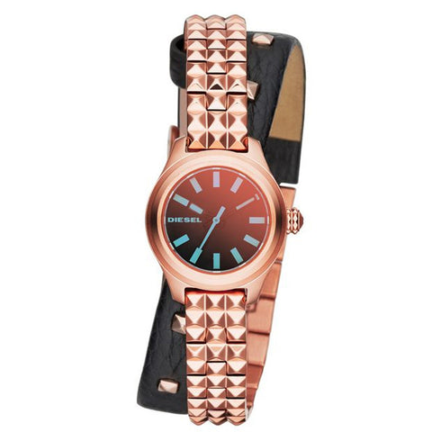 DIESEL Kray Kray Mini Black Dial Ladies Watch DZ5448