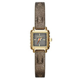 Diesel Ursula Gold-tone with Metallic Leather strap Women Watch DZ5478 - BrandNamesWatch.com