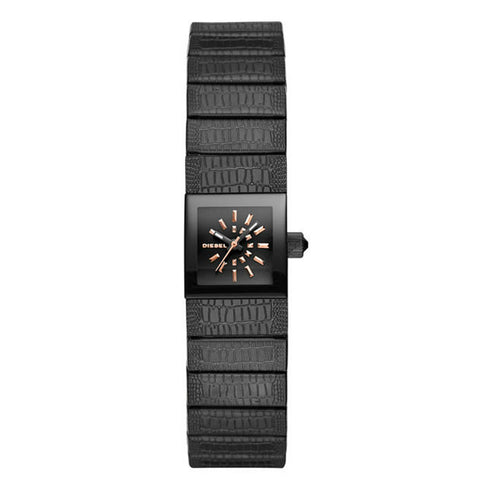 Diesel Ruki Three Hand black Stainless Steel Watch DZ5483