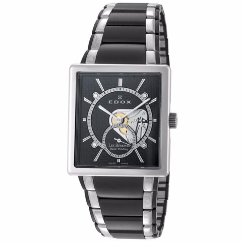 EDOX LES BEMONTS MEN'S WATCH 72012 357N NIN
