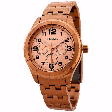 FOSSIL UNISEX STAINLESS STEEL WATCH BQ1411