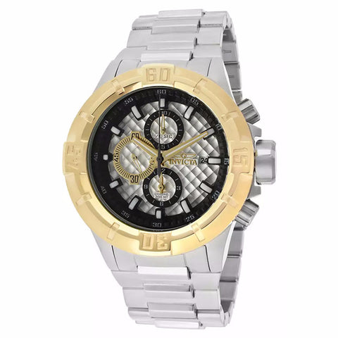 INVICTA MEN'S GOLD BEZEL PRO DIVER CHRONOGRAPH WATCH 12370