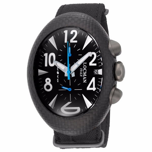 Locman Nuovo Carbonio Quartz Men's Watch 100BKCRBQBL