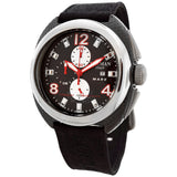 Locman Designer Men's Watch Mare Titanium Black Chronograph Dive Watch - BrandNamesWatch.com