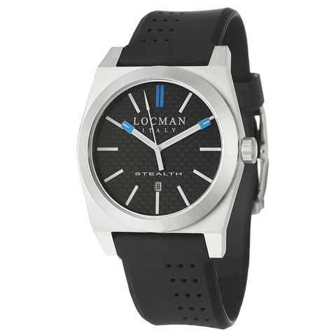 Locman Stainless Steel and Titanium Men's Watch