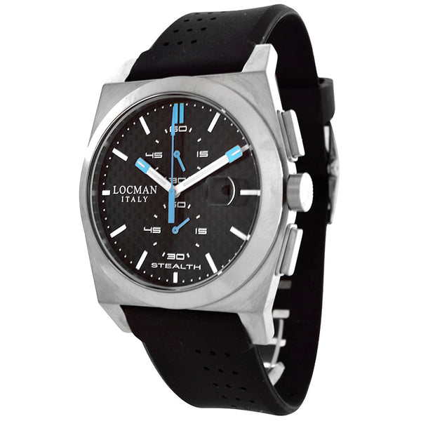 Locman Sport Rubber Stealth Men's Quartz Watch