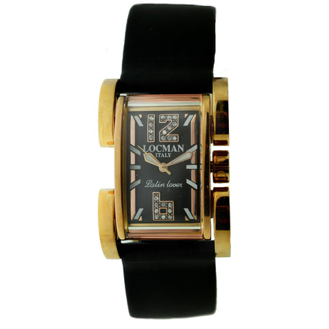 Locman Mens Latin Lover Watch Black