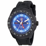 Luminox Men's A.5023 Carbon GMT Analog Display Analog Quartz Black Watch - BrandNamesWatch.com