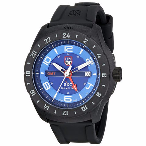 Luminox Men's A.5023 Carbon GMT Analog Display Analog Quartz Black Watch