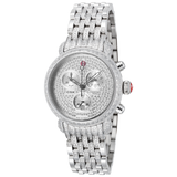 Michele Ultimate Pav̩ Diamond, Taper Diamond Bracelet Watch  MWW03C000504 - BrandNamesWatch.com