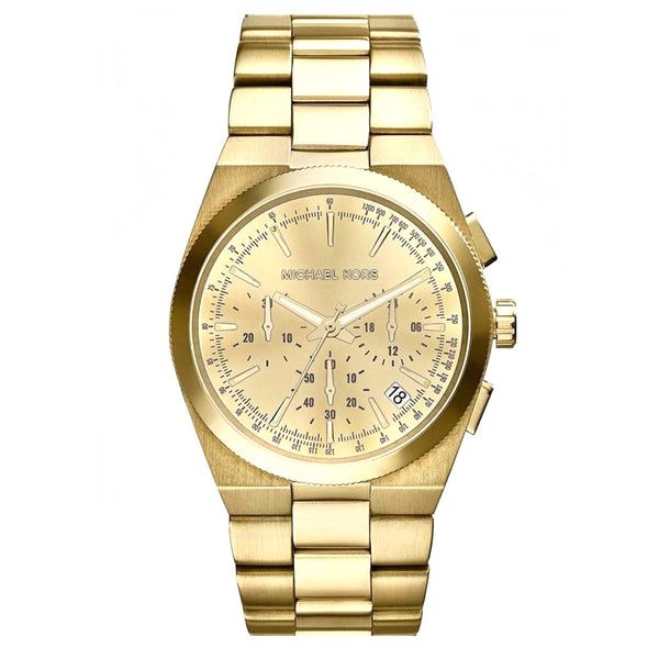 MICHAEL KORS CHANNING CHAMPAGNE DIAL GOLD-TONE WOMEN'S WATCH MK5926