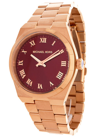 MICHAEL KORS CHANNING STAINLESS STEEL WOMEN'S WATCH MK6090