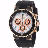 MULCO Blue Marine Mother of Pearl Dial Black Silicone Ladies Watch MW3-70604-021 - BrandNamesWatch.com