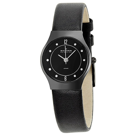 SKAGEN 233XSCLB CERAMIC WATCH