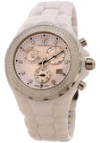 Technomarine TechnoMarine Cruise Chronograph White Dial White Ceramic Ladies Watch 113101