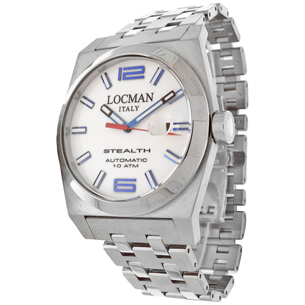 Locman Stealth Mens Automatic LO-205BWH