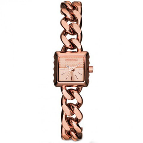 DIESEL Ursula Women's Rose Gold Stainless Steel Chain Watch DZ5429