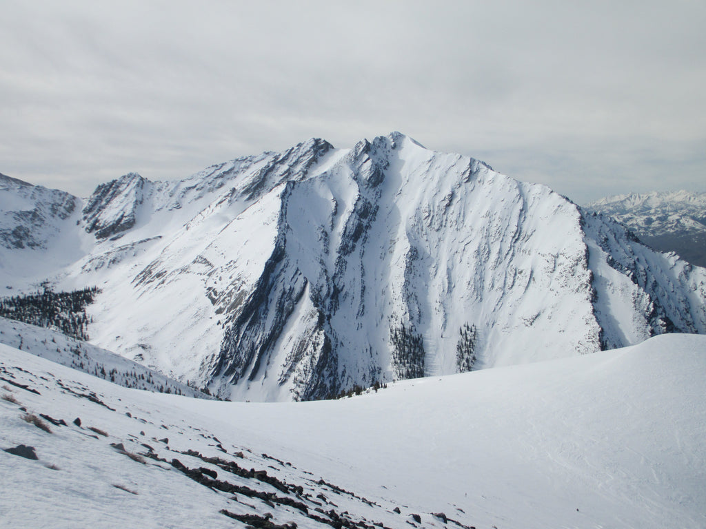 TR: North Couloir Mount Morrison