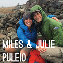 Miles and Julie Puleio
