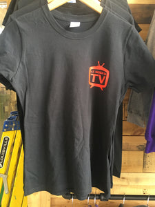 As skied in TV Shirt