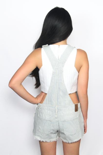The Locomotive Denim Overall