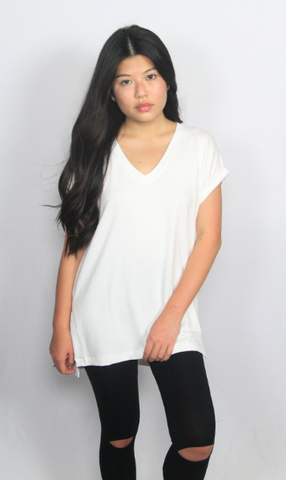 The Basics White Tee