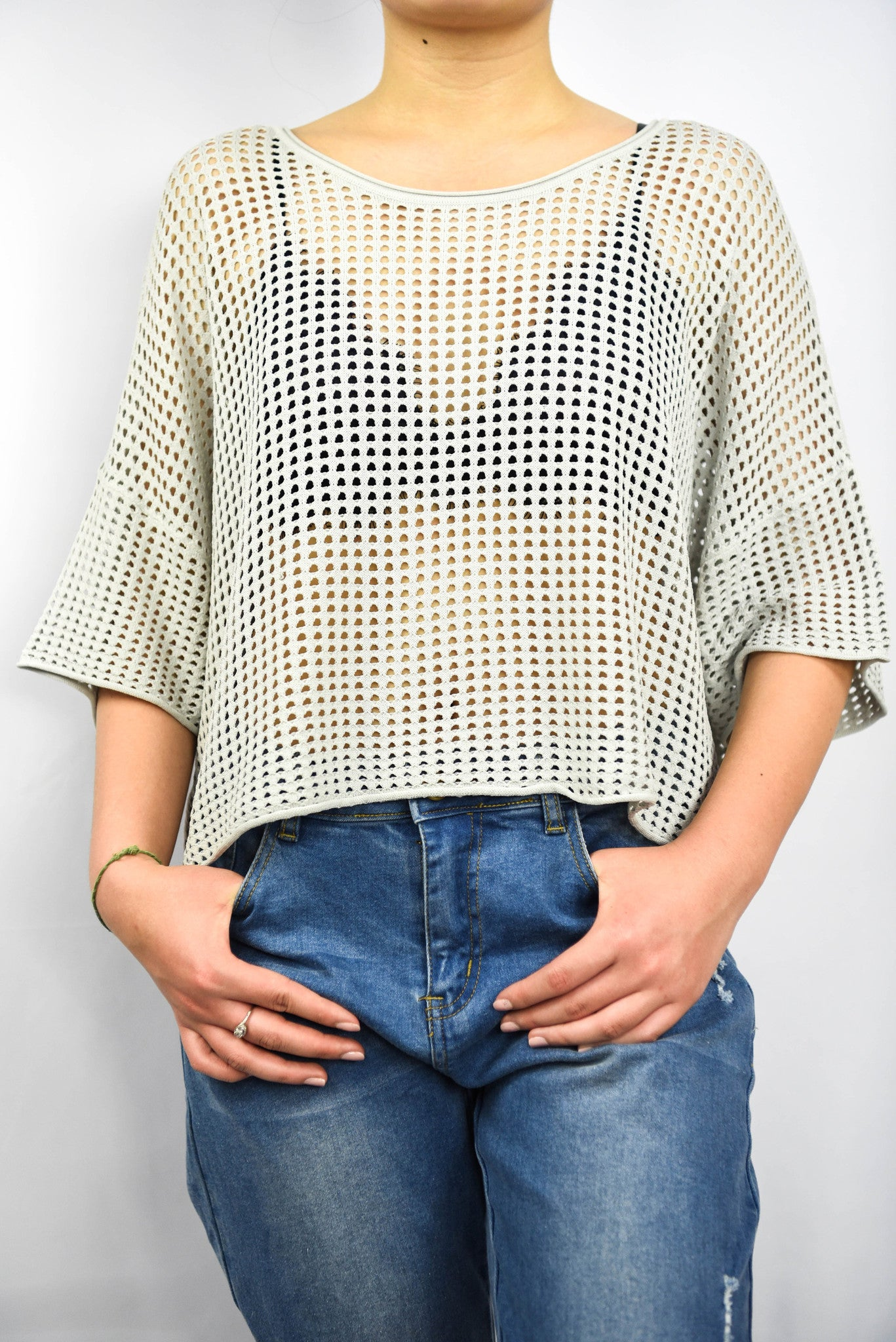 The Box O' Mesh Top
