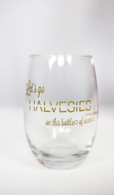 Let's Go Halvesies...on this Bottle of Wine